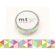 MT01D289 [マスキングテープ mt1P しまさんかく・ピンク 15mm幅×10m]