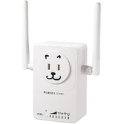 MZK-EX750NP [11ac/n/g/b対応 433+300Mbps コンセント直挿型 無線LAN中継器 忠継大王]