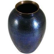 花瓶 青色 小