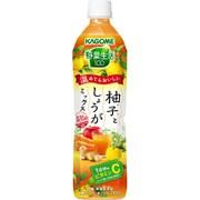 野菜生活100 柚子としょうがミックス スマートPET 720ml×15本 [野菜果汁飲料]