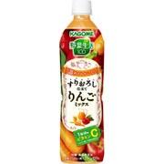 野菜生活100 すりおろし仕立てりんごミックス スマートPET 720ml×15本 [野菜果汁飲料]