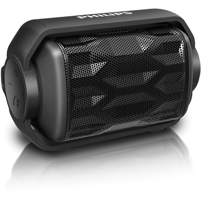 BT2200B [防水型Bluetoothスピーカー IPX6準拠 ブラック]