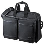 BAG-LW10BK [超撥水・軽量PCバッグ 3WAYタイプ 15.6インチワイド シングル ブラック]