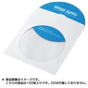 FCD-PS100WN [DVD・CDペーパースリーブケース 100枚入り ホワイト]