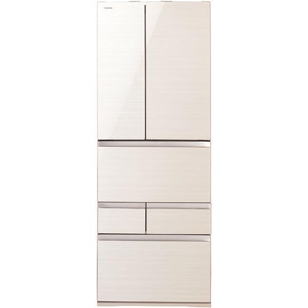 GR-J610FV(ZC) [マジック大容量 FVシリーズ 冷凍冷蔵庫(601L・フレンチドア) 6ドア ラピスアイボリー]