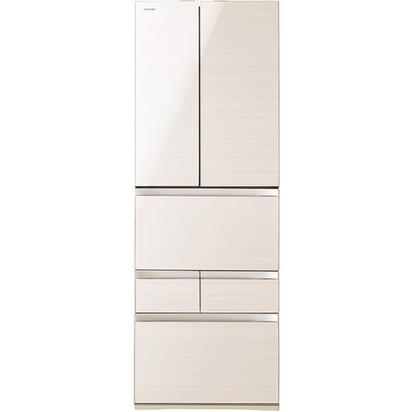 GR-J510FV(ZC) [マジック大容量 FVシリーズ 冷凍冷蔵庫(508L・フレンチドア) 6ドア ラピスアイボリー]
