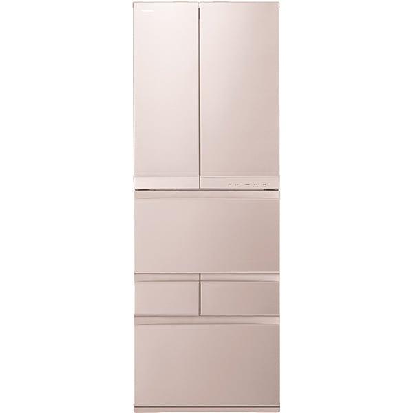 GR-J510FC(N) [マジック大容量 FCシリーズ 冷凍冷蔵庫(508L・フレンチドア) 6ドア レディッシュゴールド]