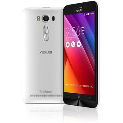 ZE500KL-WH16 [ZenFone 2 Laser Android 5.0 Lollipop SIMフリースマートフォン 16GB ホワイト]