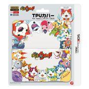 3DS-238 [妖怪ウォッチ TPUカバー for Newニンテンドー3DS クリア]