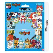 3DS-239 [妖怪ウォッチ TPUカバー for Newニンテンドー3DS ライトブルー]