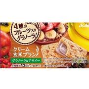 アサヒ フードアンドヘルスケア クリーム玄米ブラン グラノーラ&アサイー 2枚×2袋