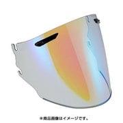 1202 スーパーアドシスZRシールド ライトスモーク/ミラーブルー [ヘルメットパーツ]