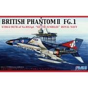 F-59 [1/72スケール ブリティッシュ ファントムII FG.1 シルバージュビリー]