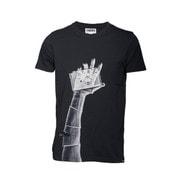 t-shirt snapographer black S [レンズキャップポケット付き Tシャツ サイズS ブラック]