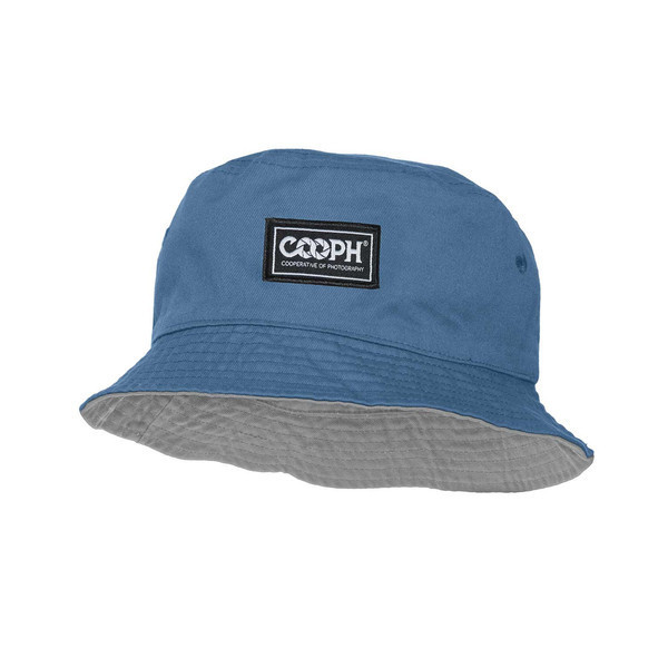 headwear  fischer hat blue-gray [リバーシブル帽子 ブルー/グレイ]