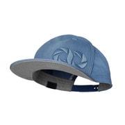 headwear  gray chart cap sky blue [汗止めバンド付き帽子 スカイブルー]