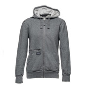hoodie gray gray melange S [レンズポケット レンズクロス付き パーカー サイズS グレイ]