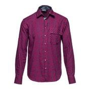 l/s shirt out there red check XXL [レンズキャップポケット レンズクロス付き 長袖シャツ サイズXXL レッド]