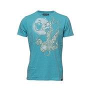 t-shirt cosmographer turqoise M [レンズキャップポケット付き Tシャツ サイズM ターコイズ]