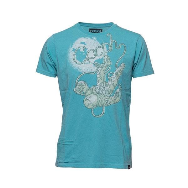 t-shirt cosmographer turqoise L [レンズキャップポケット付き Tシャツ サイズL ターコイズ]