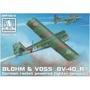 No.016 [1/72スケール エアークラフトシリーズブロム&フォス BV-40R (ロケットグライダーインターセプター)]