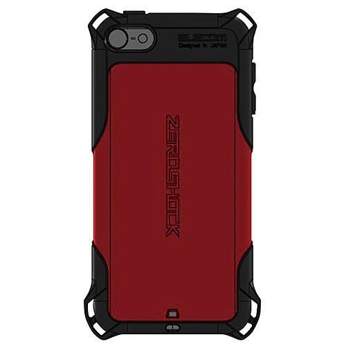 AVA-T15ZERORD [iPod touch 2015用 ZEROSHOCKケース レッド]