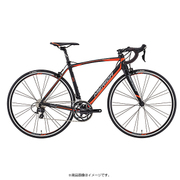 AMS040476 EK13 [ロードバイク SCULTURA 400 47cm 700×23C 外装22段変速(フロント2段×リヤ11段) マットブラック(シグナルレッド/グレー)]
