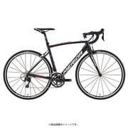 AMR040506 EWKQ [ロードバイク RIDE 400 50cm 700×25C 外装22段変速(フロント2段×リヤ11段) シルクMET.ブラック(ランプレ T-レプリカ)]
