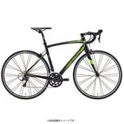 AMR020506 EK35 [ロードバイク RIDE 200 50cm 700×25C 外装18段変速(フロント2段×リヤ9段) ブラック/T-グリーン]