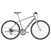AMC1466 ES22 [クロスバイク CROSSWAY BREEZE TFS 100-R 46cm 700×32C 外装21段変速(フロント3段×リヤ7段) シルバーブルー]