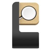 ODAW7310SN [ODOYO キックスタンドドック サタンブラック for Apple Watch]