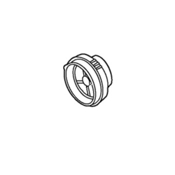 ERGN50L0017 [エチケットカッター用 刃取付台ブロック]