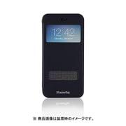 IPP-WB6-23 [iPhone6s用 窓付きブックスタイルフォリアケース WINDOW BOOK CASE ブルー]