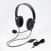 HS-HP23TBK [ヘッドセット 4極両耳大型オーバーヘッド ブラック]