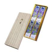花かおりラベンダー 和装紙箱4入 微煙 #5101 [線香]