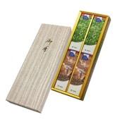 緑茶・珈琲アソート 和装紙箱4入 微煙 #5112 [線香]
