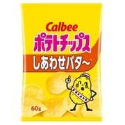 カルビー ポテトチップス しあわせバタ~ 60g [1袋]