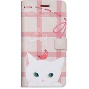HM6638iP6S [Cat couple Diary iPhone 6/6s WH]