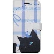 HM6639iP6S [Cat couple Diary iPhone 6/6s BK]