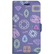 HM6643iP6S [Jewellery Diary iPhone 6/6s BL/BK]
