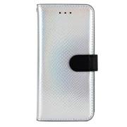 HAN6943iP6S [ホログラムカーフダイアリー iPhone 6s/6 4.7インチ用ケース SV]