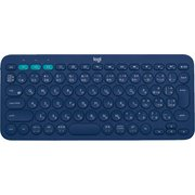 K380BL [マルチデバイス Bluetoothキーボード Windows/Mac/Chrome OS/Android/iOS/Apple TV用 ブルー]