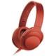 MDR-100A R [ステレオヘッドホン h.ear on ヘッドバンドタイプ シナバーレッド ハイレゾ音源対応]
