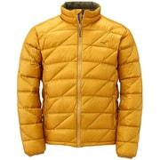 ブレスサーモ ダウンライトウエイトジャケット メンズ XLサイズ ハーベストゴールド [A2JE455652]
