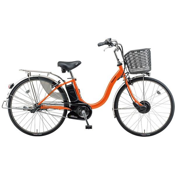 BE-EKA63K [電動アシスト自転車 ビビチャージ・A 26型 内装3段変速 17.6Ah パールオレンジ]