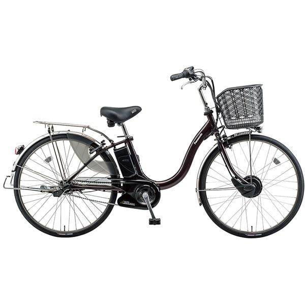 BE-EKA63T [電動アシスト自転車 ビビチャージ・A 26型 内装3段変速 17.6Ah スパークブラウン]