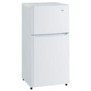 JR-N106K W [冷凍冷蔵庫 (106L 右開き) 2ドア ホワイト]