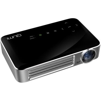QUMI Q6-BK [LEDモバイルプロジェクター 800ルーメン WXGA 720P Wi-Fi内蔵 インターネット接続可 MHL接続対応 ブラック]