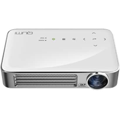 QUMI Q6-WT [LEDモバイルプロジェクター 800ルーメン WXGA 720P Wi-Fi内蔵 インターネット接続可 MHL接続対応 ホワイト]