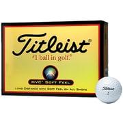 ゴルフボール HVC SOFT FEEL(エイチブイシー ソフトフィール) 2ピース ホワイト [1ダース 12球入]